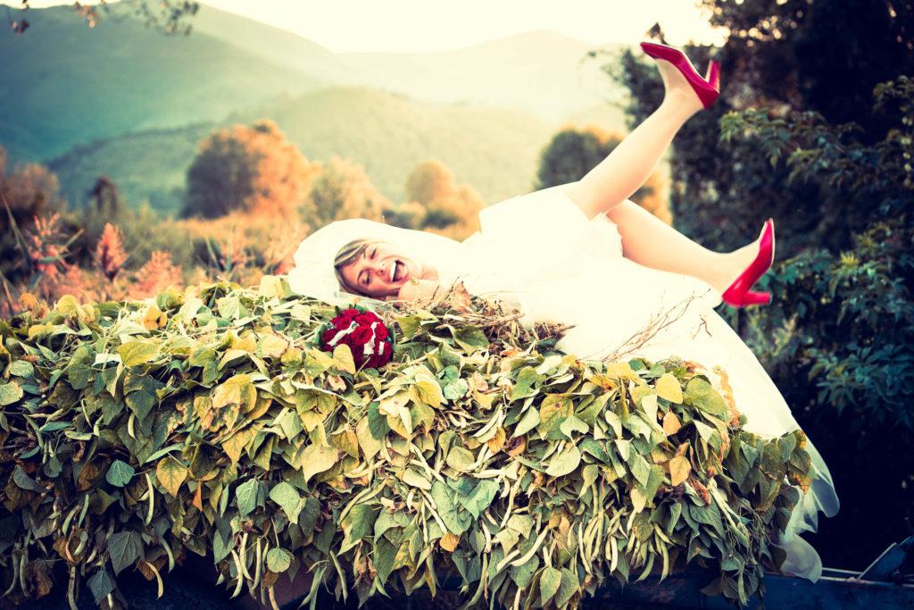 Come allestire la location del matrimonio per le foto?