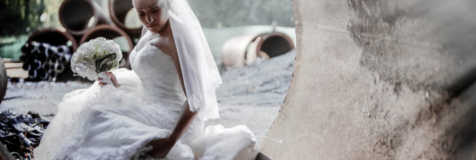 Cosa fare quando l'abito da sposa si sporca?